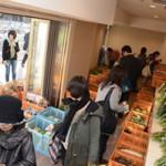【イベント】新鮮農産物がいっぱい!東小金井駅高架下に期間限定の直売所OPEN!