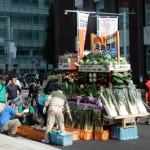 日本橋で野菜の宝船