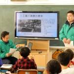 地元の小学校で農業の授業/三鷹