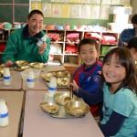 小平産の地粉を使用!学校給食で「すいとんの日」/小平市