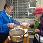 あったか~い♪職員が手作りのお汁粉を振る舞いました!/武蔵野支店