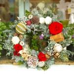 【参加者募集】12/8(月)プリザーブドフラワーを使ったクリスマスリース講座