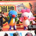 「多摩ご当地キャラ祭」でムーちゃんとサッちゃん大人気!