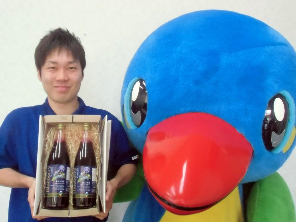 東京むさし・日付なし・A素材の味がしっかり!ブルーベリージュース発売中CIMG0916