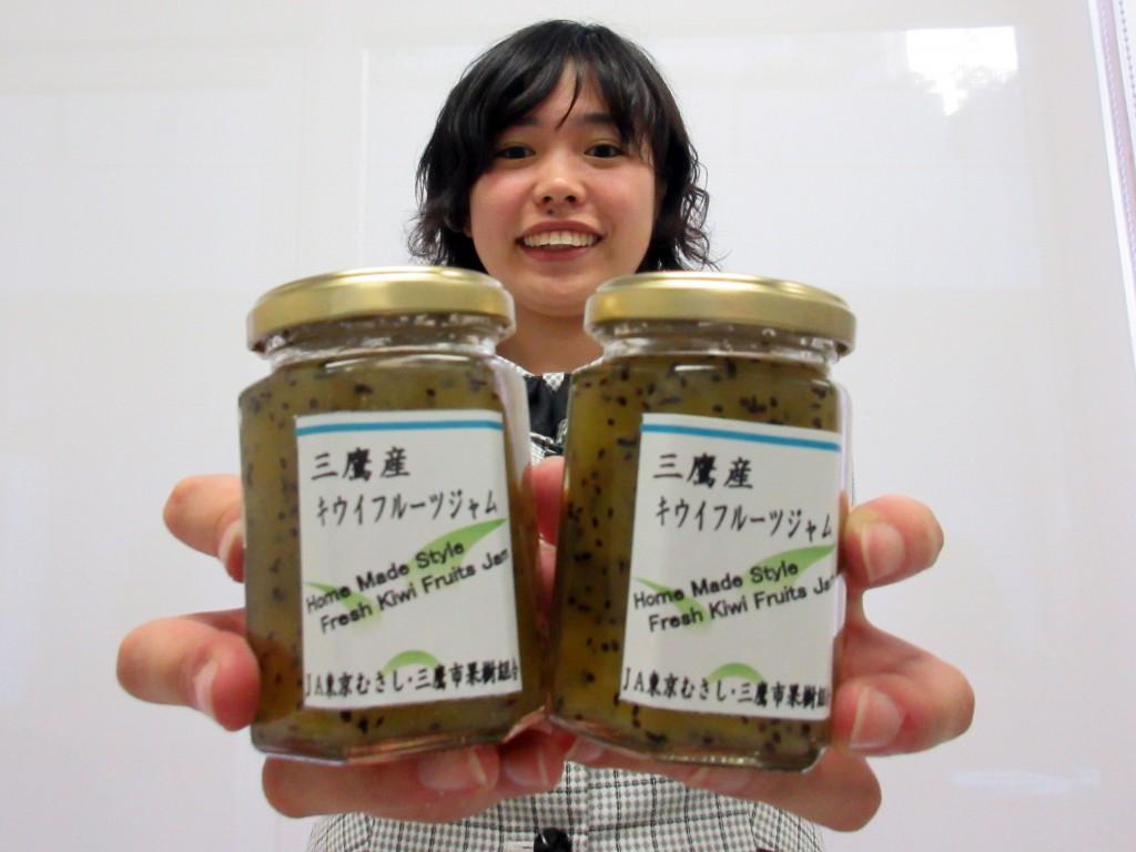 東京むさし・0610・10年目迎えるキウイフルーツジャム(フェイスブック用)